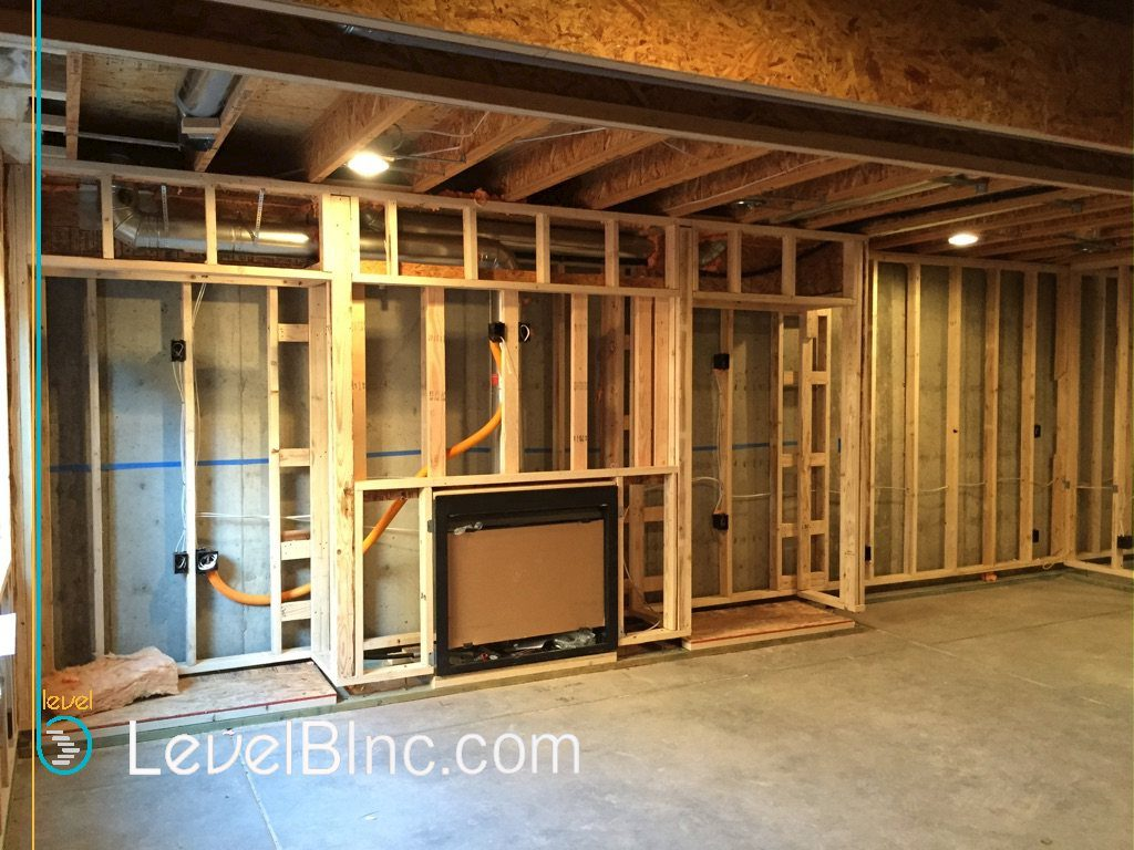 Floating Wall Framing and Electrical