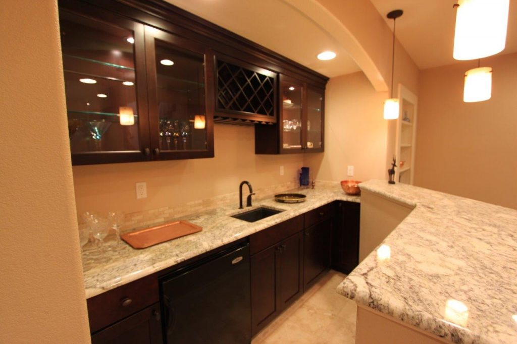Arched Wet Bar