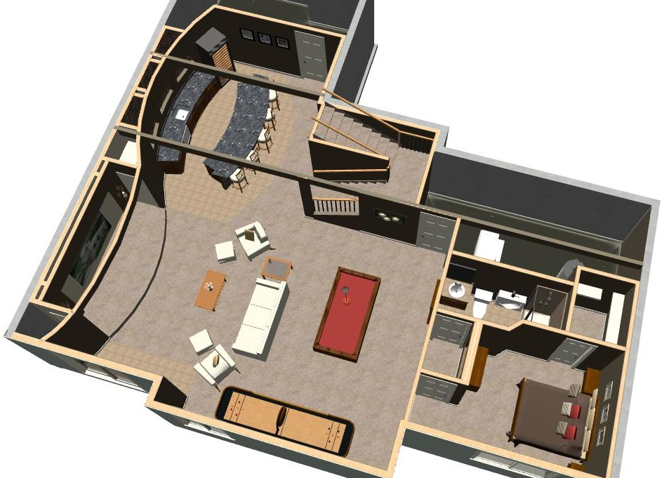 Design Rendering Floorplan